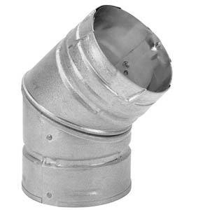 M&G DuraVent 1745044x 45Degree Elbow Pellet Vent - Pellet Vent