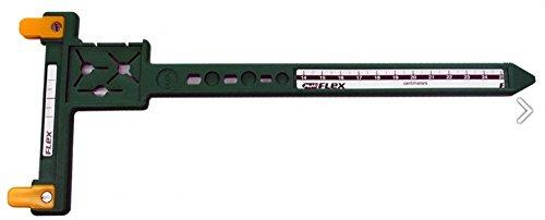 Multiflex Bogensport Tool grün, Sehnenmaßstab, Checker von FlexArchery (Nocken W/ 4)