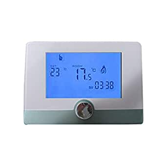 programmable murale thermostat d 39 ambiance num rique gaz chaudi re de chauffage r gulateur de. Black Bedroom Furniture Sets. Home Design Ideas