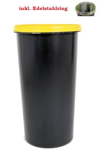 Topanbieter999 60 Liter Mülleimer Sackständer Müllständer gelber Sack Müllsackständer mit Deckel und Ring