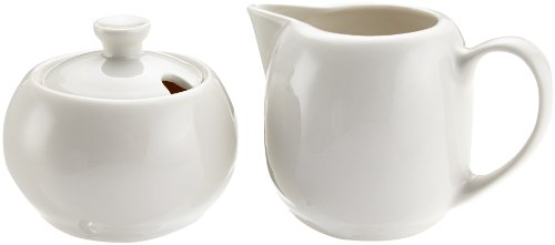 Maxwell & Williams PG145-148 Round Milch und Zucker Set, Milchkännchen, Zuckerdose, in Geschenkbox, Porzellan