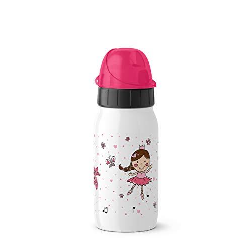 Emsa Iso2Go 518370 Isolierte Trinkflasche, 0,35 Liter, AutoClose Verschluss, Ballet