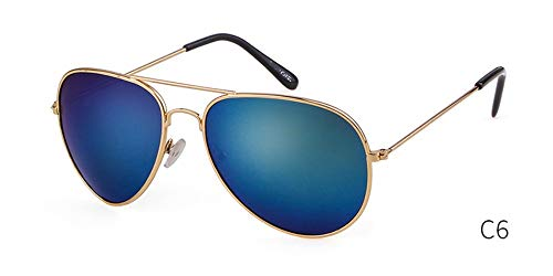 Sonnenbrille Brille Aviation Sonnenbrille Frauen Luxusmarke Designer Gradient Piloten Sonnenbrille Frauen Männer 50 Mm Light Uv 400 Blau
