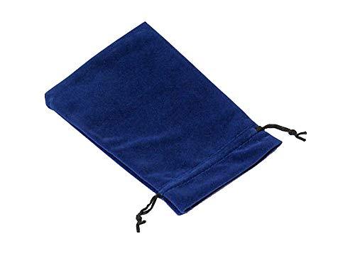 Mpyramid tessuto scuro cm stoffa in regalo BANGKOK 20 gioielli blu - tela cassa 5 XXL di VI Caso imballaggio pezzi velluto 14 confezione monili dei x sacchetto borsa
