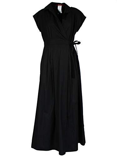 Max Mara Damen 62210391670027 Schwarz Baumwolle Kleid