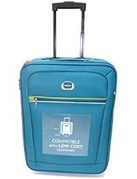 Trolley Clacson cm. 55 x 40 x 20 Bagaglio a mano Semirigido Impermeabile Idoneo Low Cost Ryanair