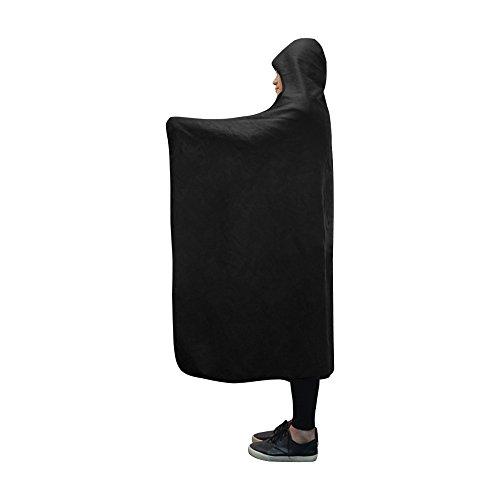 JOCHUAN Mit Kapuze Decke Katze Bow Blanket 60 x 50 Zoll Comfotable Hooded Throw Wrap -