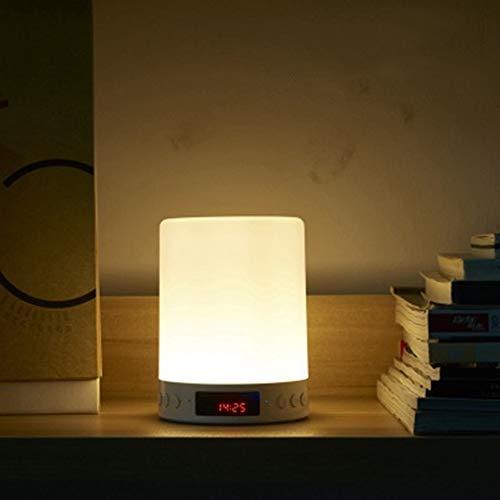 Sguan-wu LED-Licht Drahtloser Bluetooth-Lautsprecher FM Radio Clock Mic Stereo Music Player - Mädchen Für Cd-player-wecker
