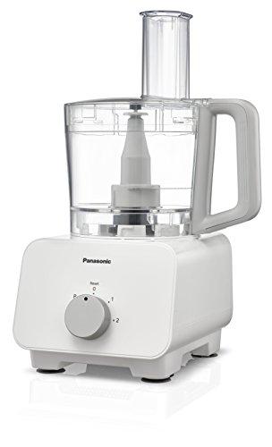 Panasonic MK-F500WXE Procesador de alimentos 1000 W, 1 Liter, De plástico, 3 Velocidades, Color blanco