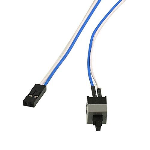 52,1cm Lange Power Button Schalter Kabel für PC Schalter Reset Computer -