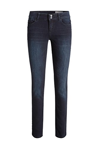 ESPRIT Damen Jeanshose Blau (blue Dark Wash 901)