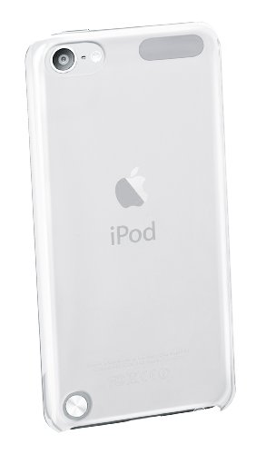 Cellular Line MP3INVISIBITOUCH5 Crystal Case für Apple iPod Touch 5G inkl. Schutzfolie transparent