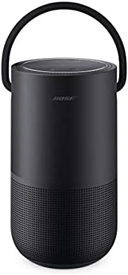 Bose Portable Smart Speaker, water-resistant design with Spacious 360° Sound, Bluetooth, Wi-Fi and Airplay 2 -