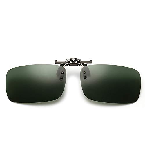ZHENCHENYZ Polarisierte Sonnenbrille Mann Clip auf myopie Brillen männer rahmenlose Sonnenbrille FLI up Sonnenbrille Sonnenbrille Clip uv400