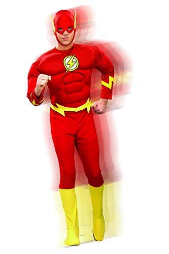 (Rubie's 3 888079 XL - Flash Deluxe Muscle Chest Kostüm für Erwachsenen, Größe XL)