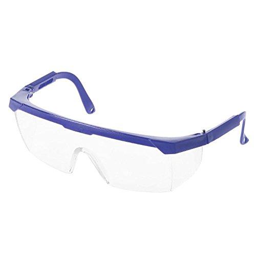 Kinbelle Lab Schützen Eye Härtung Sicherheit Schutz Brille Schutzbrille Verstellbar Schutz vor Wind Sand Eyewear Arbeit, Schwarz