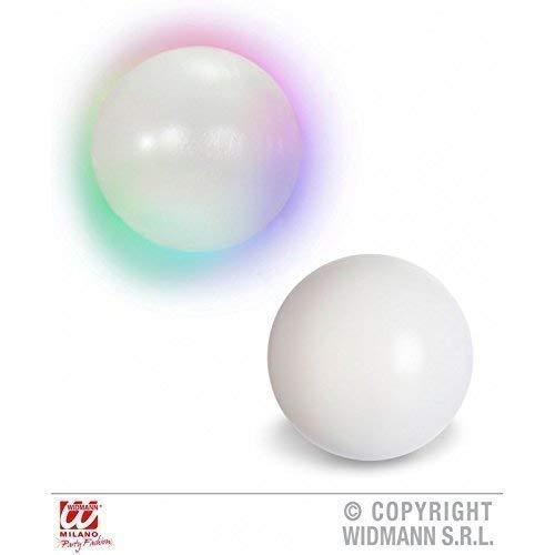 Schmuck Kostüm Zigeuner - Leuchtende Kristallkugel / Wahrsagerkugel mit Farbwechsel ca. 12,5 cm