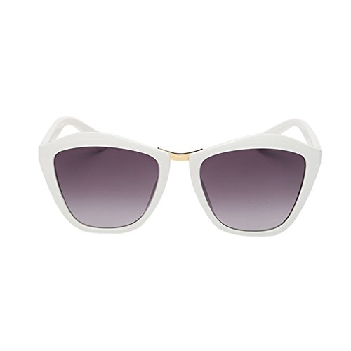 Haodasi Lunettes de soleil lunettes de soleil UV400 White