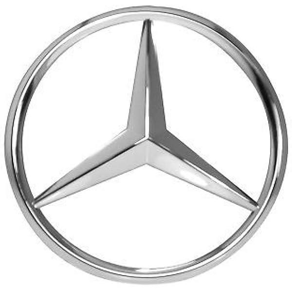 Stemma Anteriore & Posteriore Compatibile Argento Emblema 90mm C
