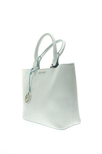 Armani Jeans Donna Borse a mano 922531 CC856 730 Borsa shopping Verde acqua
