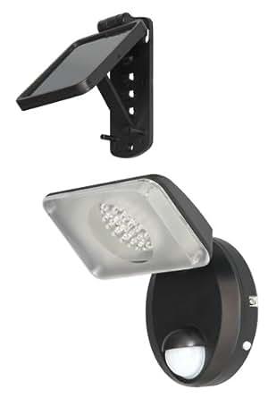 ranex led solar wandleuchte mit bewegungsmelder beleuchtung. Black Bedroom Furniture Sets. Home Design Ideas