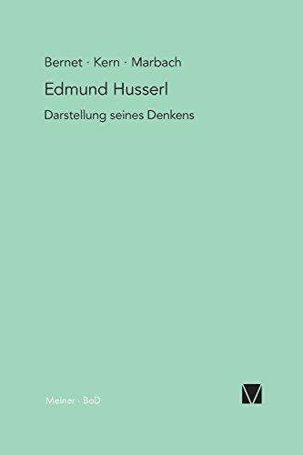 Edmund Husserl - Darstellung seines Denkens
