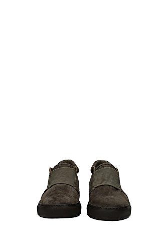 X2M233XG572A089 Armani Giorgio Chaussure montante Homme Chamois Gris Gris