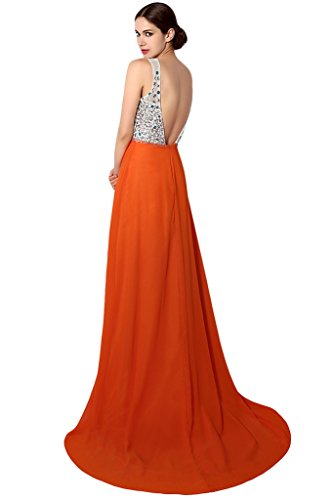 Ivydressing - Robe - Trapèze - Femme Orange - Orange