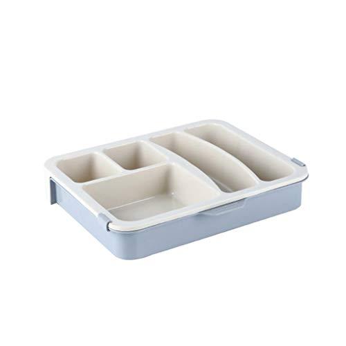 Aufbewahrungskiste.Rifuli® Schminktisch Desktop Kleinigkeiten Aufbewahrungsbox Double Layer Storage Box Kindermöbel Regale Schubladeneinsätze Aufbewahren Ordnen Kleideraufbewahrung