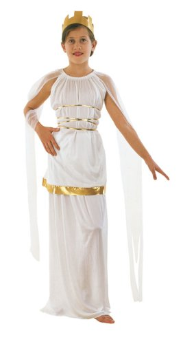 Grecian. Budget (M) costume Kids Fancy Dress (Athena Göttin Kostüm Zubehör)