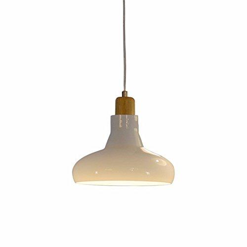 SQIAO Moderne LED-Pendelleuchten Weiß experiment Flasche Hängelampe Milch weißem Glas Restaurant bar Kronleuchter Lampe, 20 * 14 CM (Milch Schüssel Weiße)