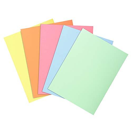 Exacompta 850300E Aktendeckel Packung (22 x 31cm,ideal zum Schutz Ihre Dokumente in Format DIN A4, 21 x 29,7 cm) 30er Pack sortiert