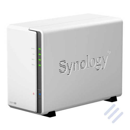 Synology  DS214se 2x SATA 800 MHz Bundle mit 2x 3000GB | 4260039807148