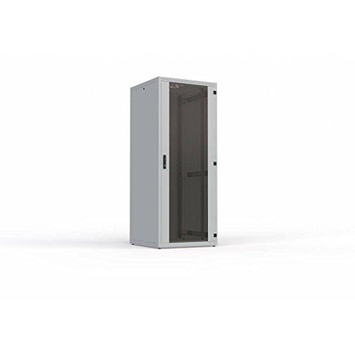 '4x Racks 4IT de 426848,26cm (19Pulgadas) 4x Armario para Datos de telecomunicaciones y Soluciones,42U pie, Ancho 600mm, Profundidad 800mm, Carga 500kg Gris