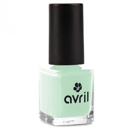 AVRIL - Vernis à Ongles Vegan Sans produits Chimiques - Vert d'Eau 573 - Application Facile, Non Testé sur les Animaux - 7ml