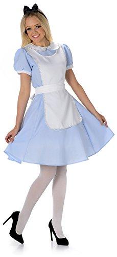 Imagen de disfraz para adultos de alicia en el país de las maravillas, de mujer.