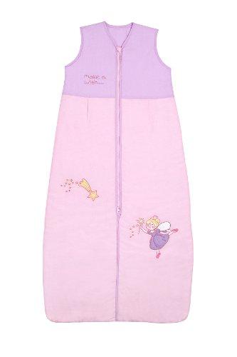 Sacco a pelo estivo per neonati 0.5 tog 110cm/12-36 mesi - Pink Fairy