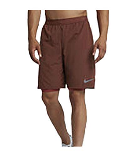 Nike Herren Dry Fly 22,9 cm Shorts, Herren, Urban Brown, Large
