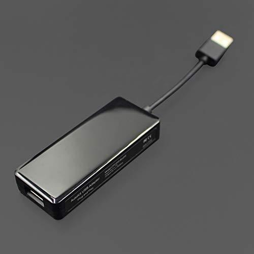 FXCO Mini Tragbare USB Auto Link Dongle Auto Link Stick Für Apple Android Navigation Musik Player Carplay Modul Ersatz Für iPhone Android Smartphones Iphone Dvd Converter