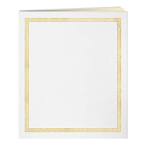 Pioneer 27,9x 35,6cm Post Bound Album, Jumbo, weiß, (Pioneer Weiß)