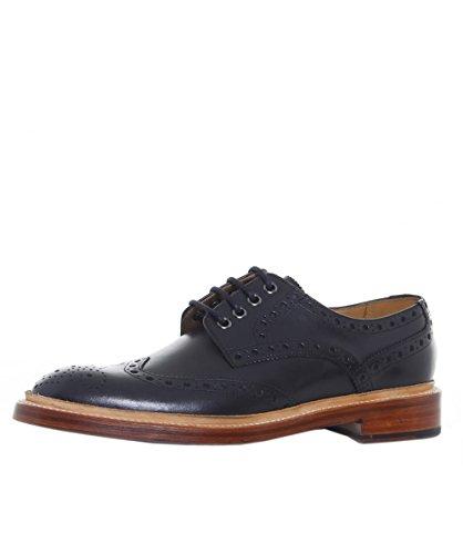 Oliver Sweeney Hommes Chaussures Derby Saunders en cuir Noir Noir