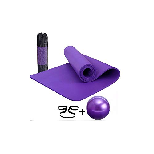 yoga matte yoga ball anzug high density schaum, muskel therapie und balance übung,Lila