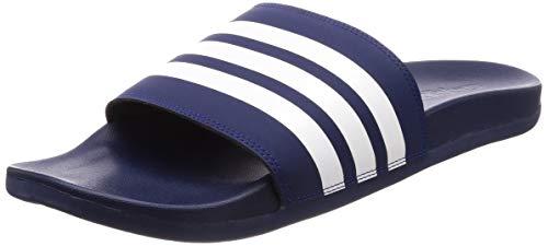 Adidas adilette comfort, scarpe da spiaggia e piscina uomo, blu (azuosc/ftwbla/azuosc 000), 44.5 eu