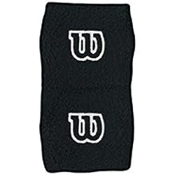 Wilson WR5602700 - Muñequera unisex, color negro, talla NS