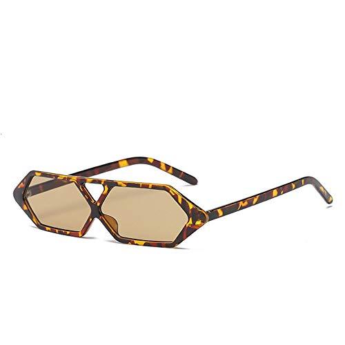 Yangxuelian Damensonnenbrille Womens Small Frame Cat Eye Sonnenbrille UV400 Schutz für Radfahren Angeln Fahren 6 Farben Sonnenbrille für Frauen 100% UV-Schutz (Color : Tortoise Shell/Tea)
