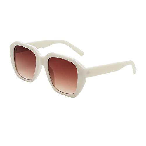 YAM DER Unisex Vintage Eye Sonnenbrillen,Retro Eyewear Fashion Strahlenschutz,UV400 - Verspiegelte Gläser,Nacht Vision Blendschutz Brille,Sportbrille,Anti-blaues Licht (D)