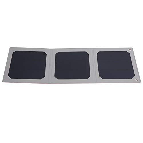 LED Solar Panel, 9W langlebige wasserdichte Faltbare USB-Ports Solar-Ladegerät für Outdoor, Notfall, Camping (Notfall-solar-panel-ladegerät)