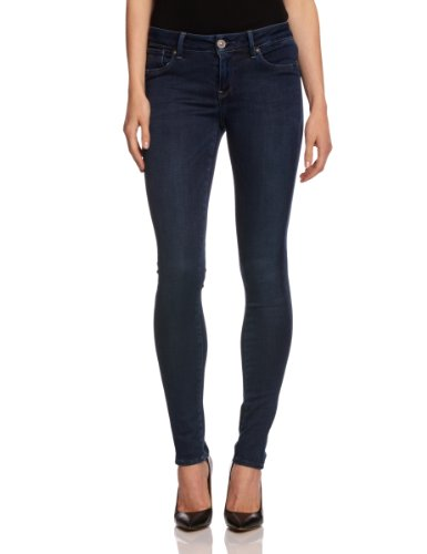 G-STAR Damen Jeans 3301 jeg skinny Skinny Blau (Medium Aged)