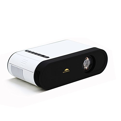 Woolala Mini Portable LED Projector Video Home Projector 500 lumens with HDMI...