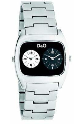 D&G Dolce&Gabbana Dig it Extension DW0138 - Orologio da polso Unisex, Acciaio inox, colore: Argento